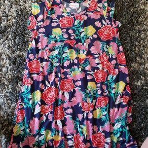 BNWOT LuLaroe Scarlett floral dress size 10